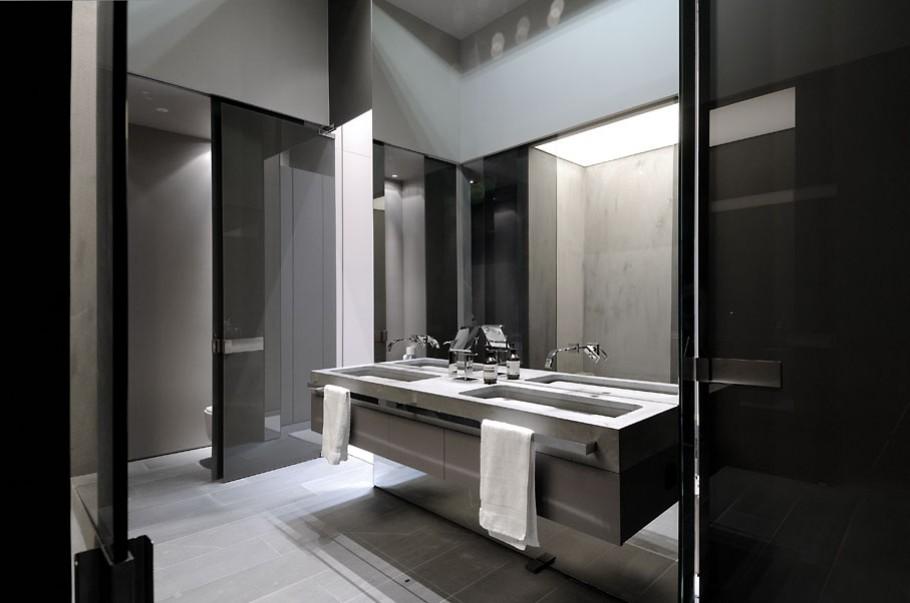 luxury poperty in madrid by a cero architects 16 В испанской столице Мадриде разместилась очаровательная резиденция Concrete House ll на окраине города от студии A cero Architects