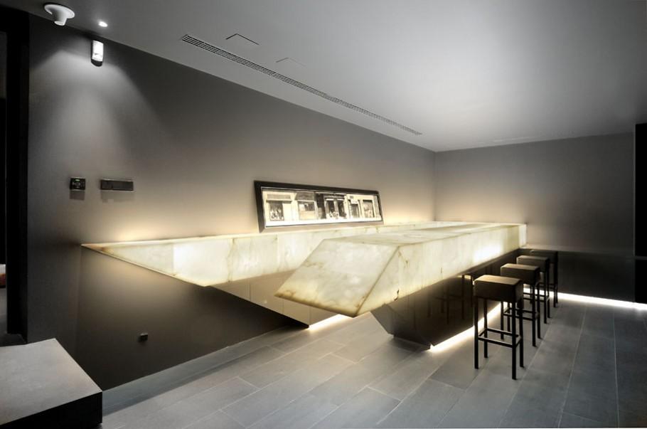 luxury poperty in madrid by a cero architects 19 В испанской столице Мадриде разместилась очаровательная резиденция Concrete House ll на окраине города от студии A cero Architects