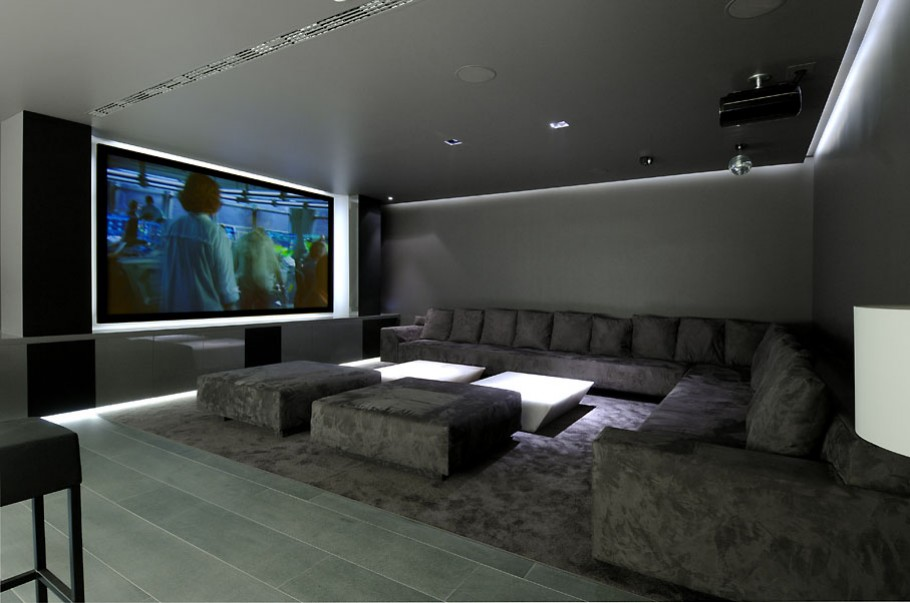 luxury poperty in madrid by a cero architects 20 В испанской столице Мадриде разместилась очаровательная резиденция Concrete House ll на окраине города от студии A cero Architects