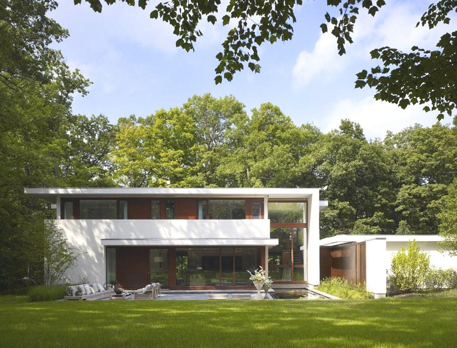 Лучшие интерьеры домов: стильный и уютный особняк Glencoe Residence