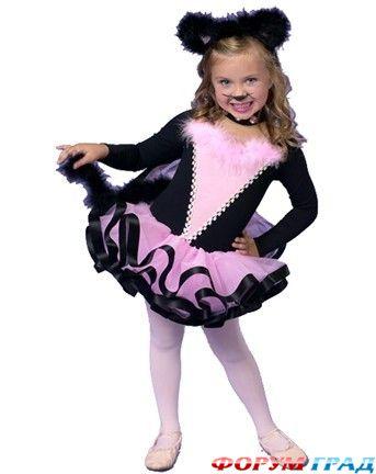 Как сделать костюм кошечки для девочки своими руками 69