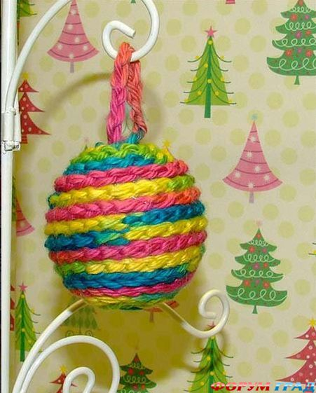 Новогодние игрушки самоделки своими руками