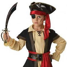 Новогодний костюм пирата для мальчика своими руками фото