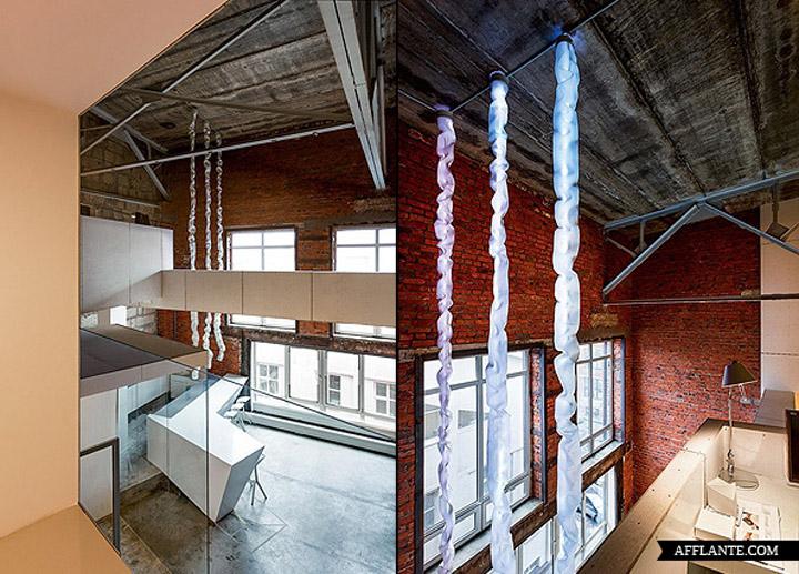 nefa research office moscow 02 Необычный дизайн офиса Nefa Research с барной мебелью