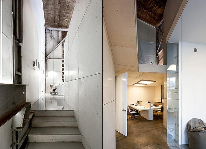 nefa research office moscow 03 Необычный дизайн офиса Nefa Research с барной мебелью