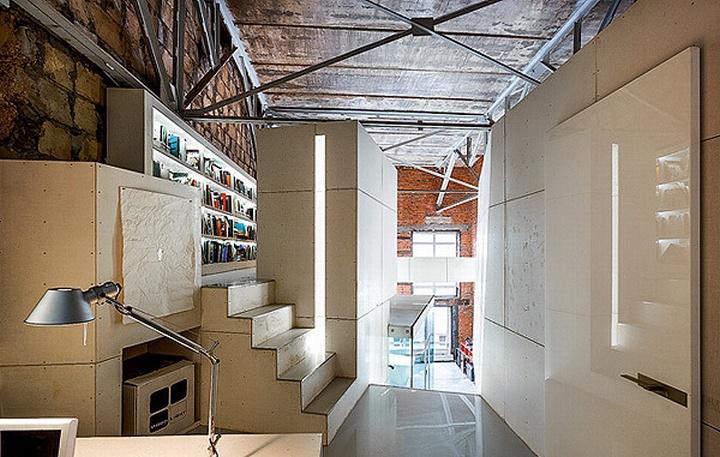 nefa research office moscow 17 Необычный дизайн офиса Nefa Research с барной мебелью