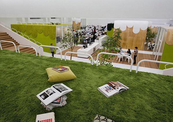 Самые лучшие шедевры дизайнерского оформления офисных помещений в мире