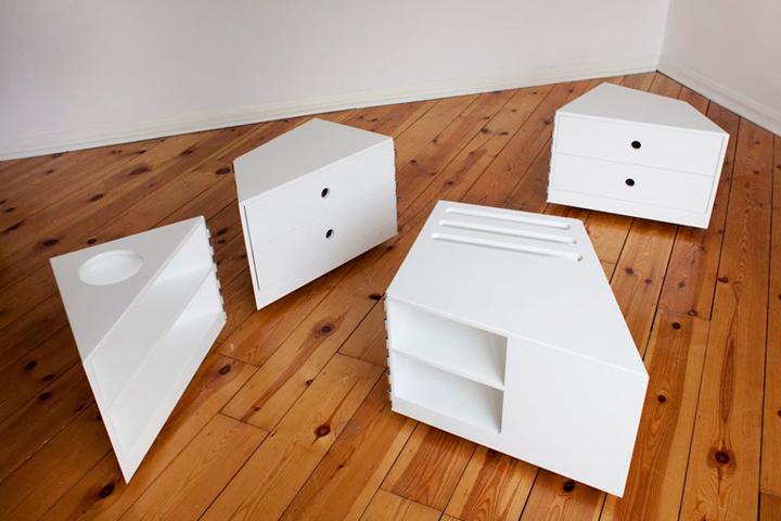 Стол-головоломка от дизайнеров фирмы D*Haus