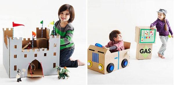Игрушки с картона для девочек своими руками