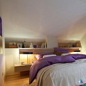 Гнездышко под крышей: спальня в мансарде, порция доза вторая - 10 туров...