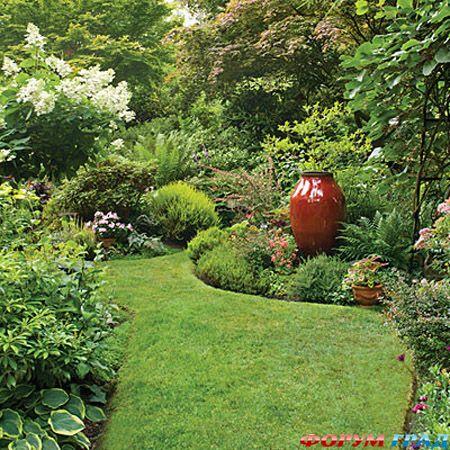 Дорожки в саду своими руками или