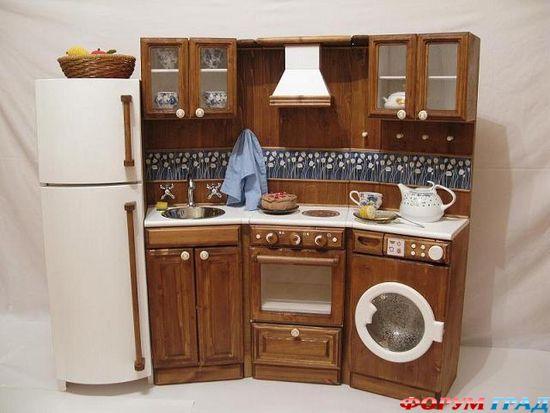 Фото детских кухонь своими руками
