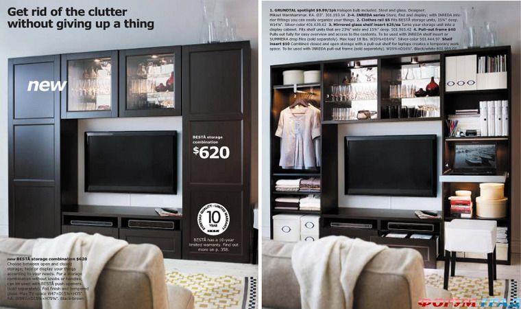 Мебель Икеа Для Гостиных
