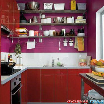 Домашний очаг для жителя мегаполиса: дизайн и планировка кухни