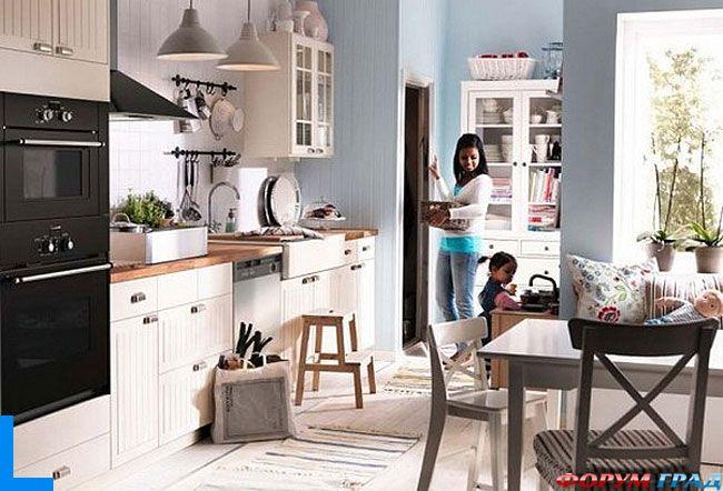 Представляем вашему вниманию кухни из каталога Икея 2012