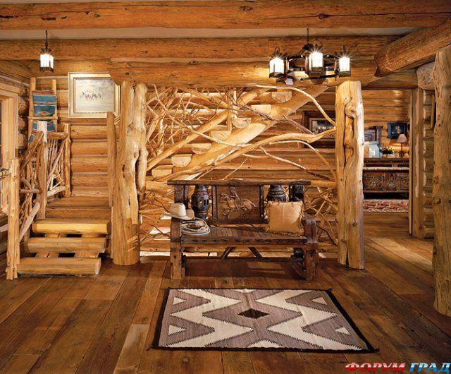 Украшение деревянного дома