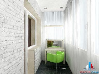 Стены на балконе дизайн
