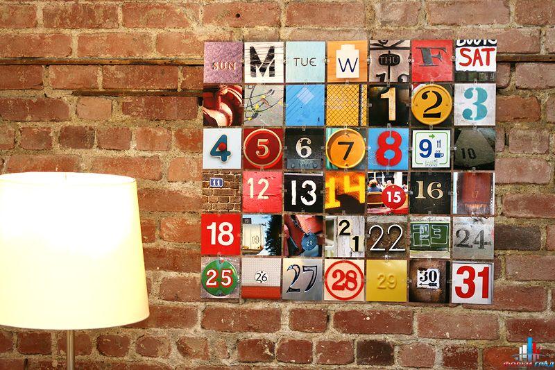 Календарь перекидной своими руками фото