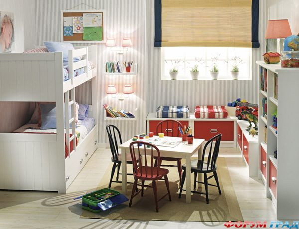 Дизайн комнаты для разнополых подростков фото