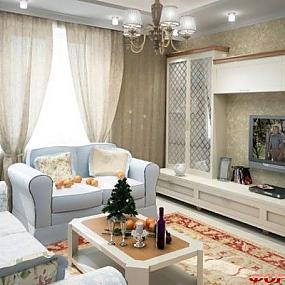 Дизайн квартир в стиле прованс.