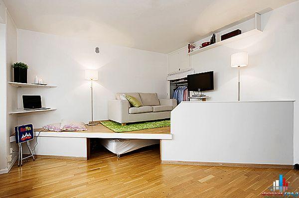 Дизайн маленьких квартир проекты