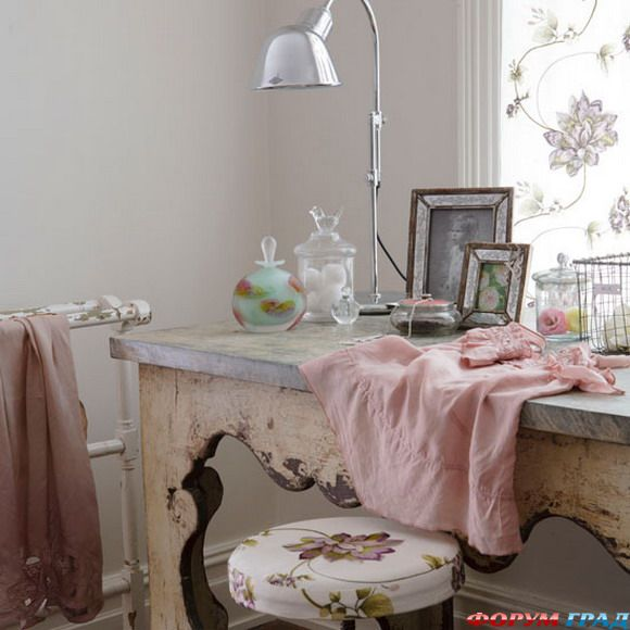 Французский стиль в интерьере, или прованс подразумевает нежные...