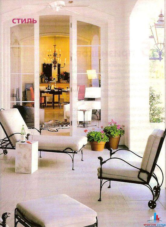 Если все оформлено в одном стиле и цвете, то это придаст вашему дома...