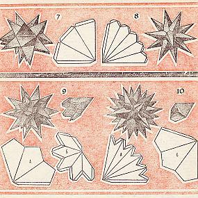 звездчатые многогранники из бумаги