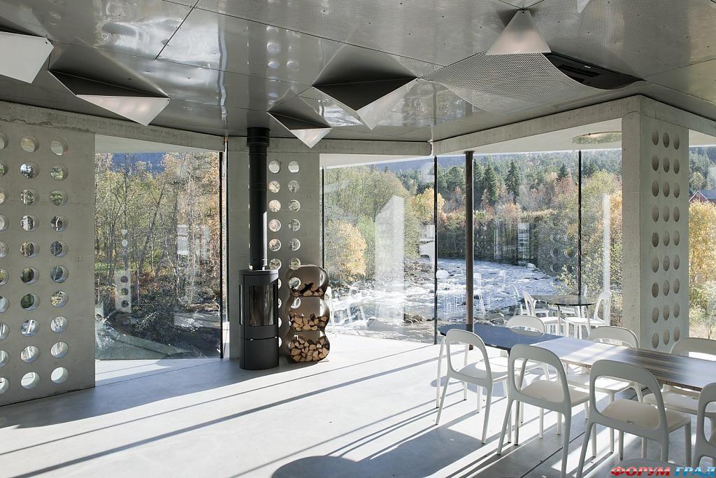 В отеле Juvet Landscape