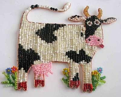 Такая симаптишная коровка