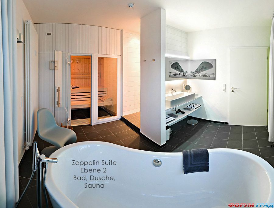 Ванная в номере отеля V8