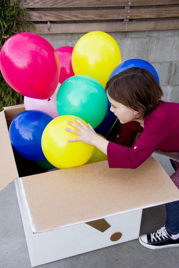 Гелевой шарик своими руками