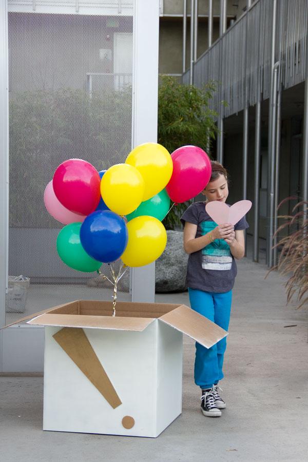 Как сделать большой шар сюрприз своими руками
