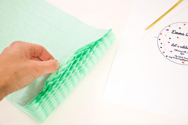 Шар соты из бумаги своими руками
