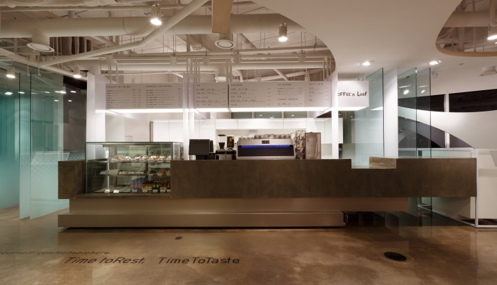Дизайн интерьера Coffee'n Loaf от Design Bono, Сеул