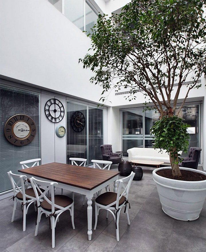 Эклектичный дизайн кафе-ресторана Turkcell Maltepe Plaza