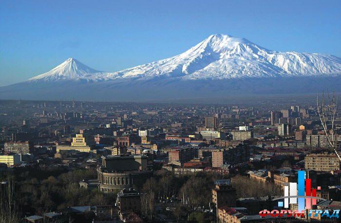 Ереван - вид на Арарат