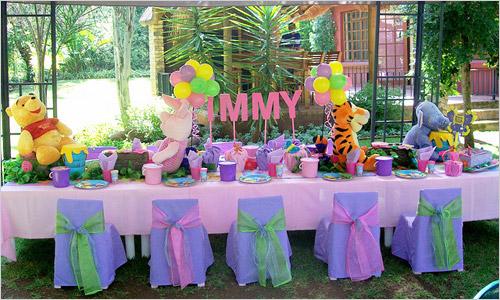 Сервировка стола своими руками на день рождения фото