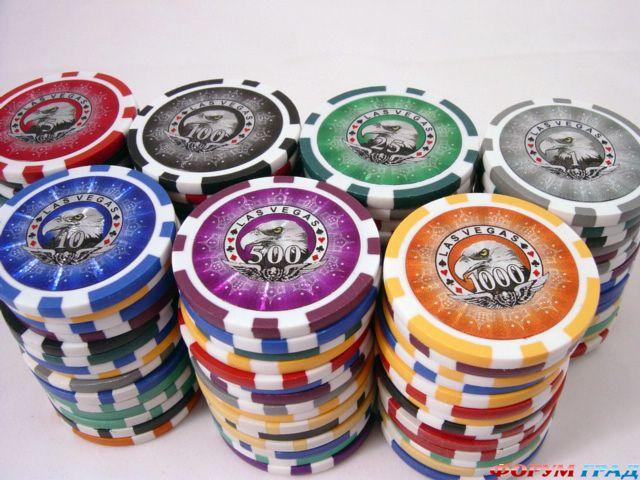 Оформление покерных фишек