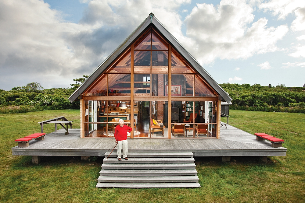 Дизайнер Йен Ризом и его хижина Block Island Cabin