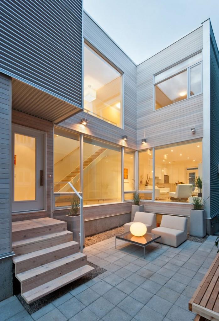 Лучшие интерьеры домов: стильный и уютный семейный коттедж в Оттаве