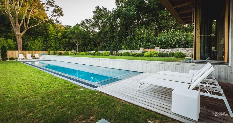 Восхитительный проект фешенебельной курортной виллы с бассейном