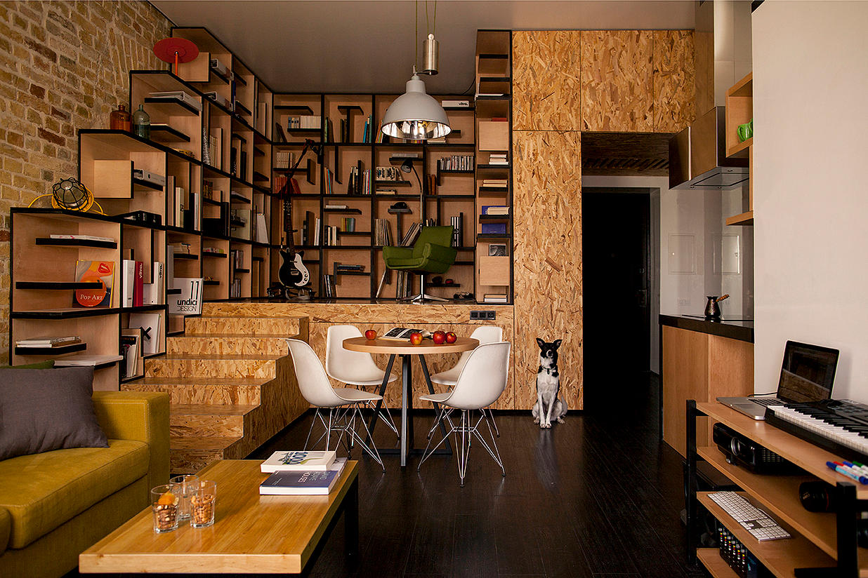 Small efficiency apartment ideas