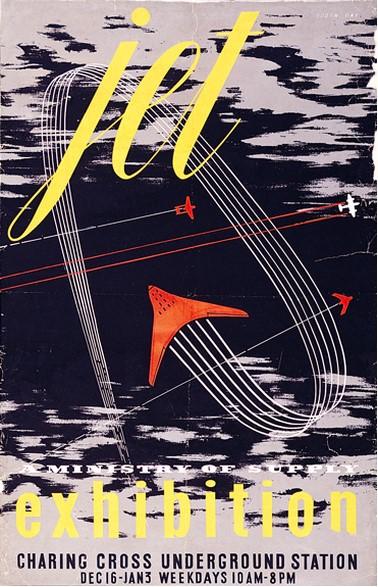 Робин Дей. Плакат для авиационной выставки 1946 года