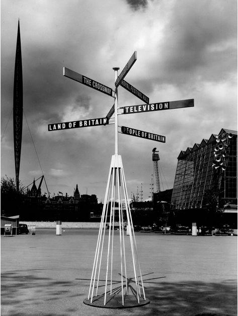 Робин Дей. Указатель на Британском фестивале, 1951