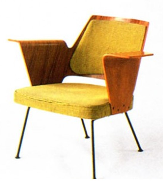 Робин Дей. Кресло для холла на Британском фестивале, 1951