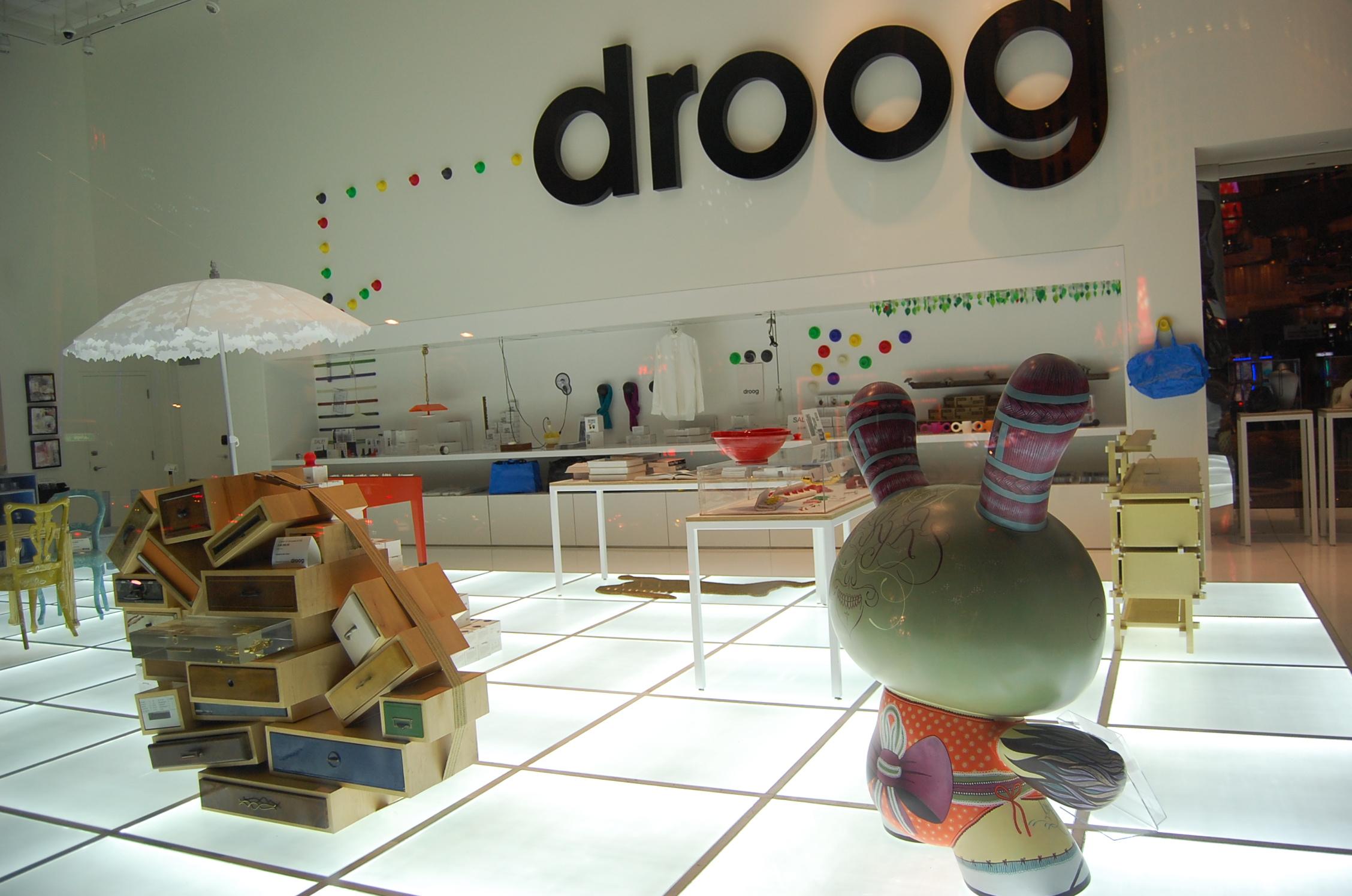 Droog – голландская студия современного дизайна, Амстердам