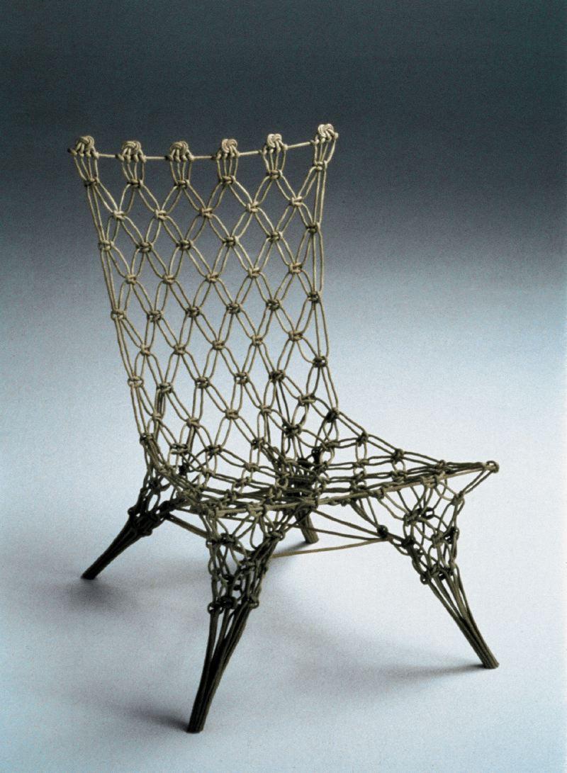 Марсель Вандерс. Knotted Chair, 1996