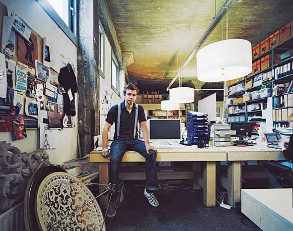 Йорис Лаарман. В студии