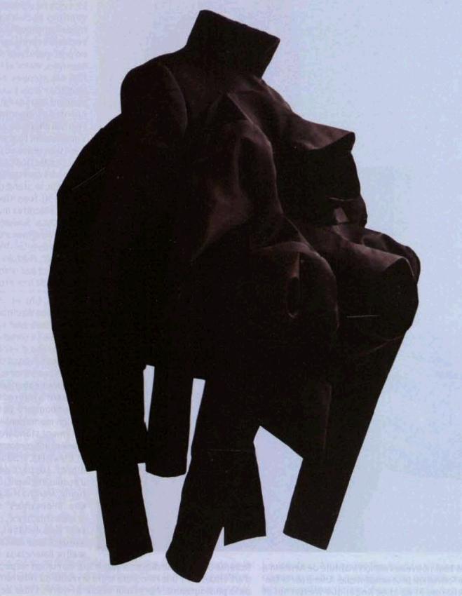 Нильс Клаверс. Куртка с 4 рукавами